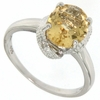 2.19ctw Citrine Ring in Sterling Silver