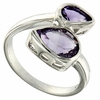 2.28ctw Amethyst Ring in Sterling Silver