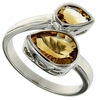 2.30ctw Citrine Ring in Sterling Silver