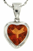 "2.37ctw Mystic Sunstone Pendant in Sterling Silver with 18"" Chain"