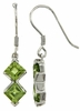 2.75ctw Peridot Earrings in Sterling Silver
