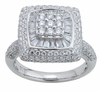 1.52ctw Diamond Engagement Ring in 14KT or 10KT