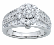 1.25ctw Diamond Engagement Ring in 14KT or 10KT