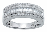 0.66ctw Diamond Wedding Band in 14KT or 10KT