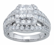 2.50ctw Diamond Engagement Ring in 14KT or 10KT