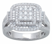 1.05ctw Diamond Engagement Ring in 14KT or 10KT