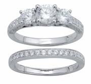 2.00ctw Diamond Bridal Set Rings in 14KT or 10KT