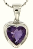 "2.37ctw Amethyst Pendant in Sterling Silver with 18"" Chain"