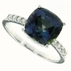 3.84ctw Mystic Blueish Ring in Sterling Silver