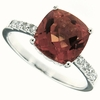 3.84ctw Mystic Sunstone Ring in Sterling Silver