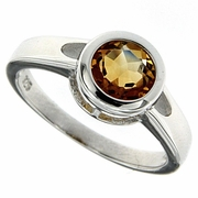 1.45ctw Citrine Ring in Sterling Silver