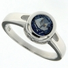 1.45ctw Mystic Blueish Ring in Sterling Silver