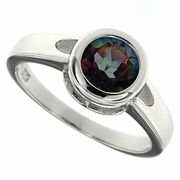 1.45ctw Mystic Ring in Sterling Silver
