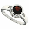 1.45ctw Garnet Ring in Sterling Silver