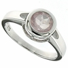 1.45ctw Rose Quartz Ring in Sterling Silver
