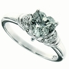 1.40ctw Green Amethyst Ring in Sterling Silver