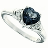 1.40ctw Mystic Iolite Blue Ring in Sterling Silver