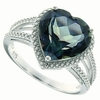 4.73ctw Mystic Blueish Ring in Sterling Silver
