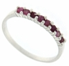 0.41ctw Ruby Ring in Sterling Silver