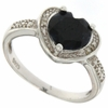 1.84ctw Sapphire and Diamond Ring in Sterling Silver