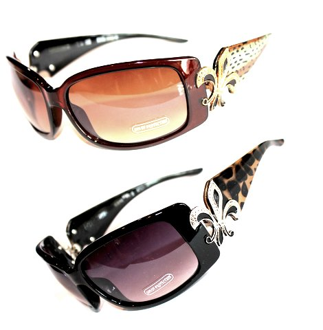 Beautiful Fleur-de-Lis Sunglasses for Women of God