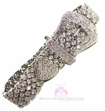 Belt of Truth Cubic Zirconia Cz Bracelet