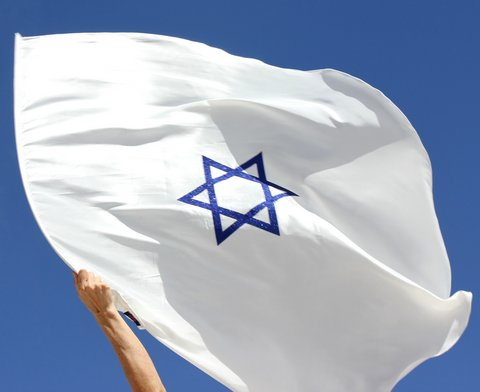 Messianic Star of David Support Israel Peace for Jerusalem Worship Flag with FlexTM