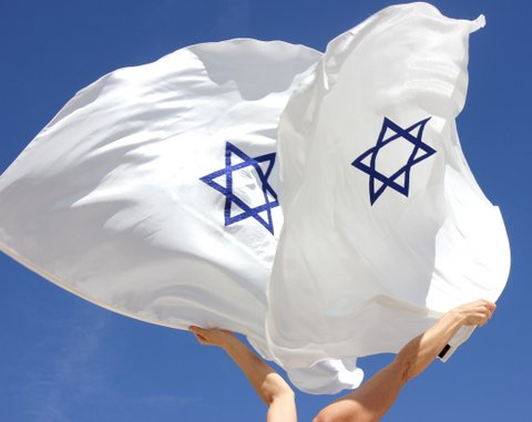 Messianic Star of David Support Israel Peace for Jerusalem Worship Flag with Flex™