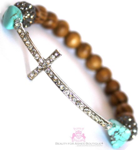 Dressy Cross DIVINE DESTINY BRACELET by Beauty for Ashes