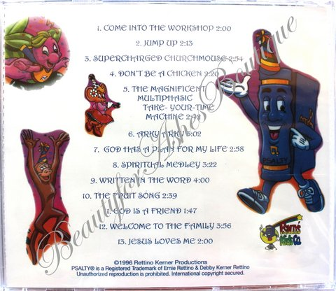 PSALTY ALL NEW PRAISE PARTY TWO! CD