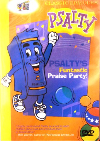 PSALTY FUNTASTIC PRAISE PARTY! DVD