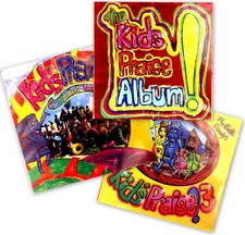 PSALTY THE SINGING SONGBOOK KIDS PRAISE CD'S 1 2 3 COMBO SET