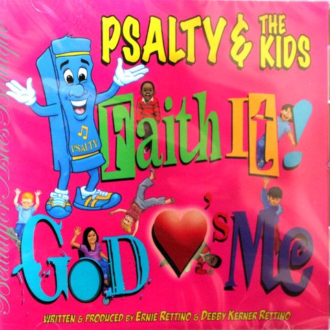 RELEASED 2011 PSALTY THE SINGING SONGBOOK FAITH IT! CD