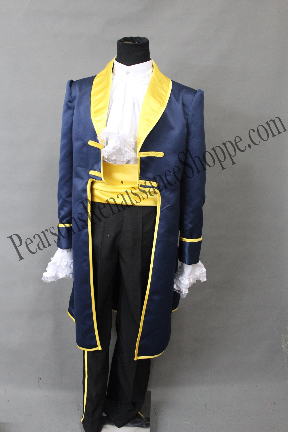 Disney Beauty And The Beast Prince Adam Costume Set