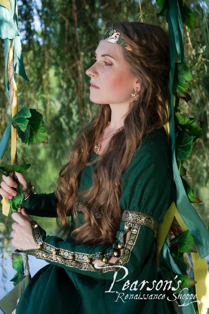 Forest Princess Medieval Renaissance Clothing Costumes