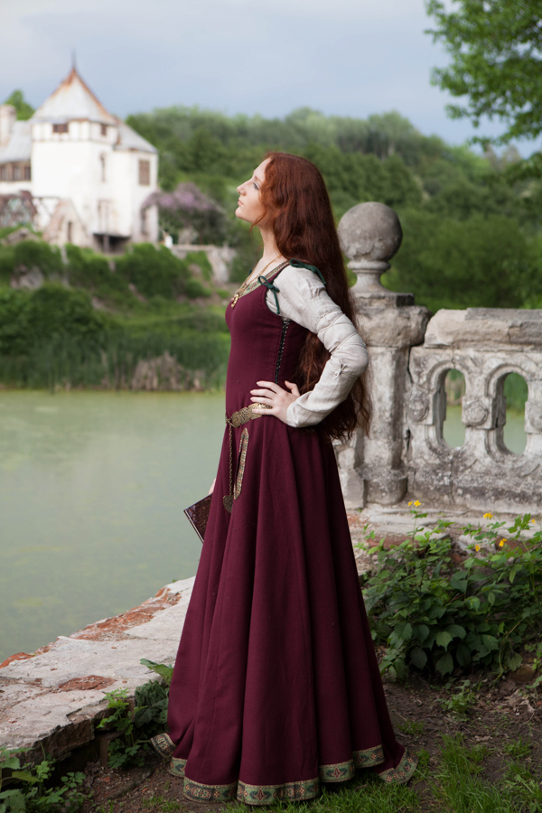 Medieval Wool Dress Quot Green Sleeves Quot