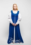 Renaissance Dress with White Chemise