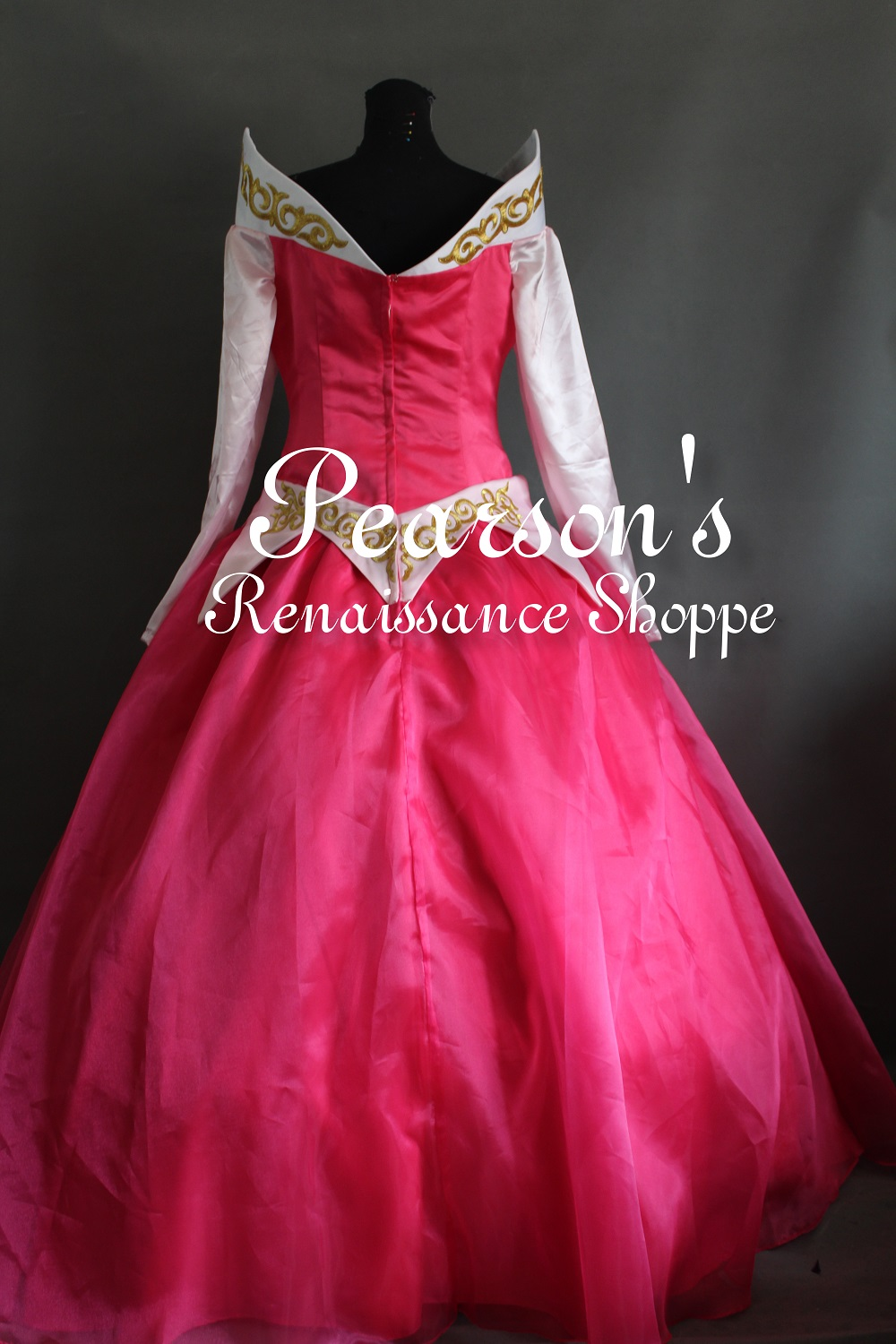 disney princess aurora pink dress