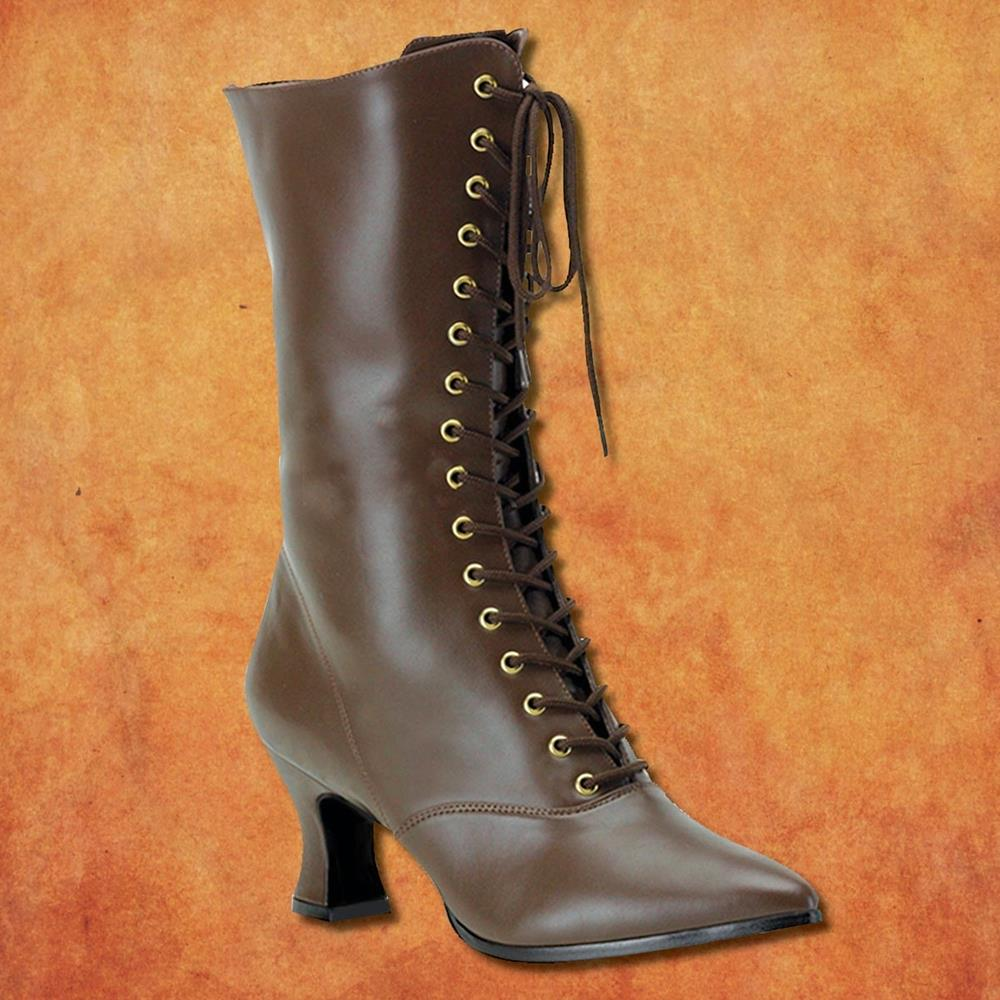 Victorian Boot Womens Medieval Shoes Renaissance Boot