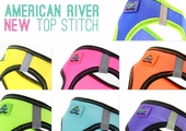 American River Top Stitch Harness