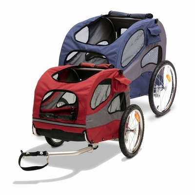 Solvit Houndabout II Dog Bicycle Trailer