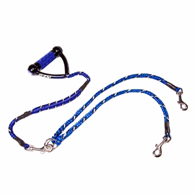 Two Dog Pull Absorbing Leash Solution