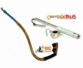 What is the difference in the WalkyDog Plus and the Bike Tow Leash?