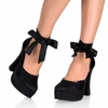 "5"" Dolly-82  Chunky Platform Heels"