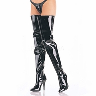 "Pleaser Footwear  5"" Exotic Crotch Boot Seduce-4010"