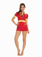 Beach Patrol - 4 pc. Costume Size Medium 9610