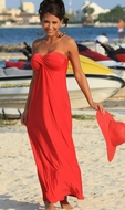 Ujena Swimwear  F603  Celebrity Getaway Classic Dress