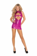 Keyhole Front Mini Dress 8266