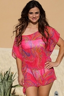 Paisley Passion Tunic Swimwear Cover Up