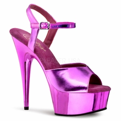 "Pleaser Footwear  5 3/4"" Exotic Dancer Shoes Delight-609"